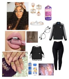"""Untitled #272"" by andreapassion ❤ liked on Polyvore featuring adidas, Vita Fede and Ray-Ban"