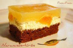 Karamelles-diós sütemény vaníliakrémmel | Tavola in Piazza Cheesecake, Sweets, Dios, Caramel, Gummi Candy, Cheesecakes, Candy, Goodies, Cherry Cheesecake Shooters