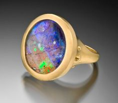 Lilly fitzgerald opal ring #opalsaustralia