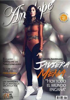 Portada Antilope aniversario, Javiera Mena, junio 2013.