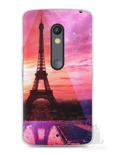Capa Capinha Moto X Play Torre Eiffel #2 - SmartCases - Acessórios para celulares e tablets :)