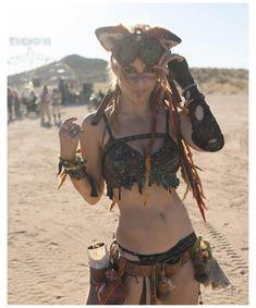 Moda Burning Man, Burning Man Girls, Burning Man Art, Burning Man Outfits, Burning Man Fashion, Festival Mode, Festival Outfits, Festival Fashion, Post Apocalyptic Costume