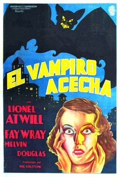 A village is plagued by deaths seemingly caused by a vampire in 1933's The Vampire Bat.