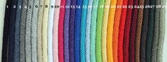 55 yards 5m  Braided Cotton Rope With Core by Bobbiny on Etsy, $3.30