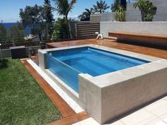 View topic - show me your pool, spa etc Swiming Pool, Small Swimming Pools, Small Pools, Luxury Swimming Pools, Swimming Pools Backyard, Swimming Pool Designs, Pool Landscaping, Pool Spa, Backyard Pool Designs