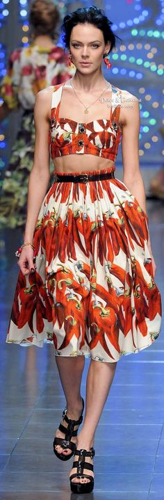 Dolce & Gabbana Brings the Bling