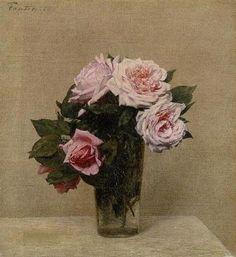 Roses - Henri Fantin-Latour