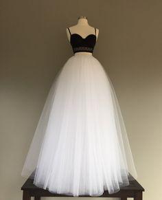 Piso falda de tul falda de tul blanco falda de tul por shopVmarie