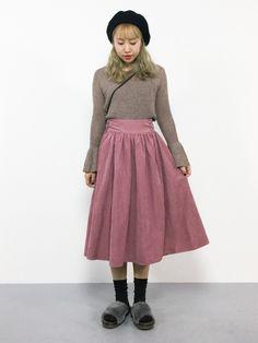 Larme Kei, Japanese Street Fashion, Kawaii Fashion, Harajuku, Midi Skirt, Street Style, Kawaii Style, Cute, Skirts