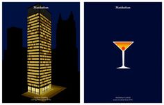 Image 7 of 26 from gallery of Drink Like an Architect: Pair your Cocktail with the Perfect Building. Seagram Building by Mies van der Rohe / Manhattan Cocktail. Image Courtesy of Kosmos Architects Seagram Building, Sci Arc, Old Adage, Ludwig Mies Van Der Rohe, Cocktails, Drinks, Beverages, Innovation Design, Decor Interior Design