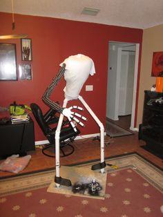 jack skeleton in the making