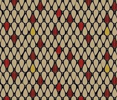 Leaves_So_Fall fabric by glimmericks on Spoonflower - custom fabric