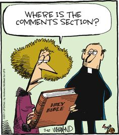 Comics Humor Reality Check by Dave Whamond Christian Comics, Christian Humor, I'm A Believer, Dennis The Menace, Anne Lamott, Quotes From Novels, Non Sequitur, Reality Check, Calvin And Hobbes