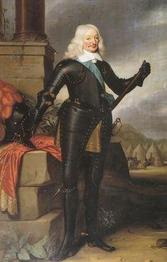 16de Heer van Brederode. Portret van Johan Wolfert van Brederode (1599-1655). Door Jan van Rossum (werkzaam 1654-1678)