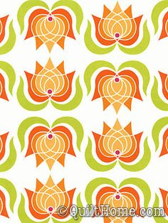 Lush DC5387-CRMS Fabric by Patty Young