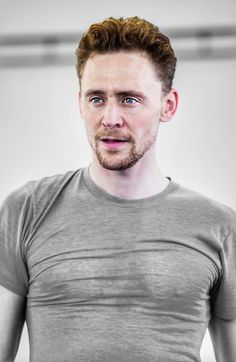 Tom: I would love to rest my head on that beautiful chest...feeling his strong arm around me and his long fingers stroking my hair...