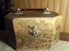 #antique box #anton pieck