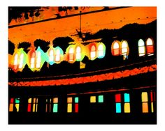 Opry Lights by Joy Williams. Giclee print from Art.com.