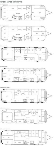 ok, maybe a little too small to live in ... all the time. Airstream Classic Limi...