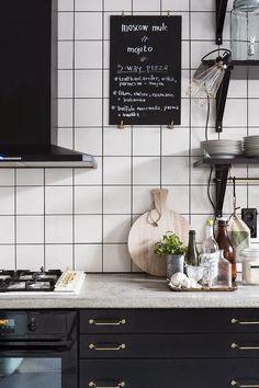 milo and mitzy: Kitchen Splashback