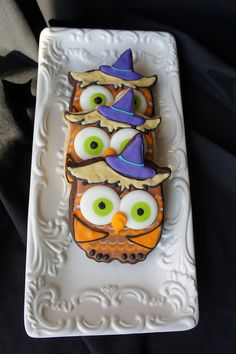 Little owl witch cookies...aawww