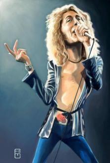 fernandomc's Portfolio on Wittygraphy - Robert Plant (Led Zeppelin)