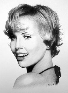 Pencil Drawings Of Film Stars - more here - http://www.inspirefirst.com/2012/04/05/pencil-drawings-film-stars/