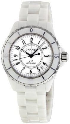 Chanel Women's H0970 J12 White Ceramic Bracelet Watch CHANEL. $4599.00. Save 12% Off!