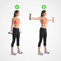 Das Best-Schulter-Training auf dem Gesicht des Planeten | Frauengesundheit