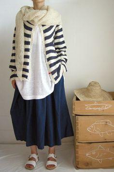 Daniela Gregis shawl hand knit