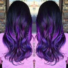 Best Purple Hair Color For Dark Hair