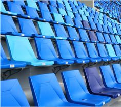 Original Design Seating -- with High Commercial Value among National Sports Stadium Diamond stadium seating, belonging to Avant Original Series. Stadium Chairs, Stadium Seats, Try Guys, Sports Stadium, Sport Hall, Football Stadiums, Home Technology, Pew Pew, Blue Aesthetic
