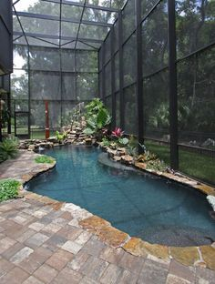 pool, indoor pool, swimming pool, exterior living, outdoor life, architecture, landscape