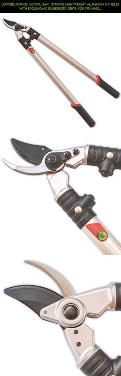 """Loppers, Bypass Action, 24"""", Strong Lightweight Aluminum Handles With Ergonomic Rubberized Grips, For Pruning Trees, Shrubs, Roses, Perennials, Garden Tools By The Gardener's Friends #gadgets #parts #plans #technology #trimmers #tech #fpv #drone #camera #t #shopping #products #for #men #kit #racing"""