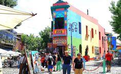 Caminito em Buenos Aires #argentina #viagem