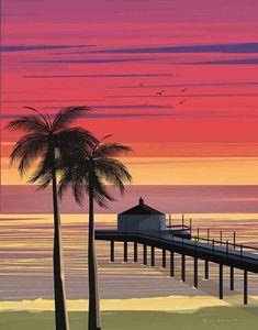 Framed California No Words Print