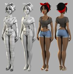 3ds Max Character Creation by Andrew Hickinbottom