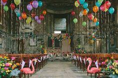 FESTIVAL BRIDES   Tones of the Tropics – 4 Colour Ways to Transport your Wedding