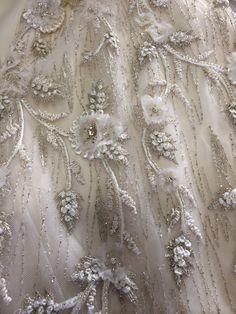 Gorgeous details Lazaro Wedding Dress 3064 FOR SALE