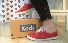 Red Keds, Keds Champion, Vans Authentic, Sweden, Sneakers, Happy, Shoes, Style, Fashion
