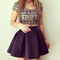 17 Ideas Skirt Outfits For Teens Formal Outfits Teenager Mädchen, Teenage Girl Outfits, Outfits For Teens, Clothes For Teens Girls, Mode Outfits, Skirt Outfits, Dress Skirt, Skirt Set, Mini Skirt