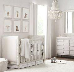 soft neutrals create a welcoming space. marcelle nursery. #rhbabyandchild #fallinlove
