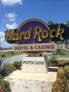 This is the hard rock hotel in Punta Cana. Tia sign is right in front before you enter the gates.