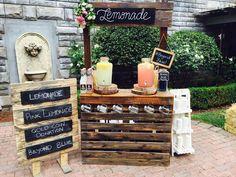 DIY Shelves: Tips Techniques Every Woodworker Should Kno – Modells. Lemonade Bar, Lemonade Stand Wedding, Food Cart Design, Bar A Bonbon, Summer Bucket Lists, Diy Pallet Projects, Bar Drinks, Diy Garden Decor, Rustic Wedding