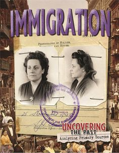 Uncovering the Past series which uses Primary Sources is a fabulous resource for middle and upper elementary Primary And Secondary Sources, Mass Migration, Controversial Topics, How To Influence People, Interesting Topics, Cultural Diversity, Upper Elementary, Political Cartoons, Critical Thinking