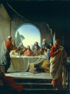 The Last Supper by Carl Heinrich Bloch