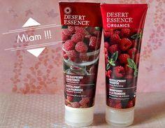 J'ai testé le shampooing et le revitalisant à la framboise de Desert Essence. http://melleambroise.com/desert-essence-un-vrai-dessert-sous-la-douche/