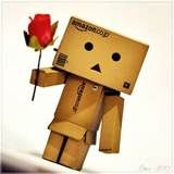 Image detail for -tagged danbo box robot rose flower cute box robot amazon box robot ...