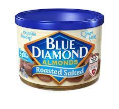 Free Can Of Blue Diamond Almonds
