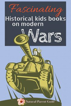 History of modern times wars can be difficult. These are great books to study modern wars in homeschooling or for any kid interested in learning about war.